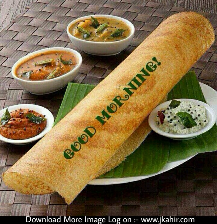 Good Morning With Masala Dhosa