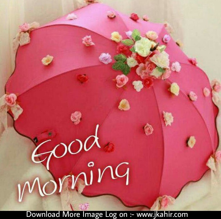 Good Morning With Umbrella