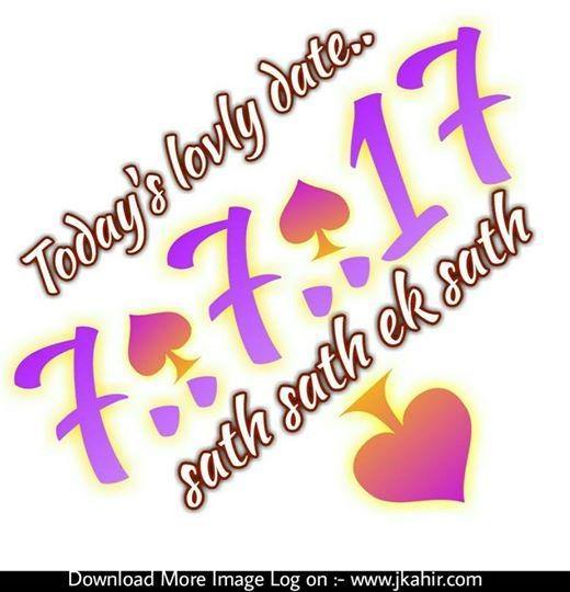 Today's Lovly Date Sath Sath Ek Sath