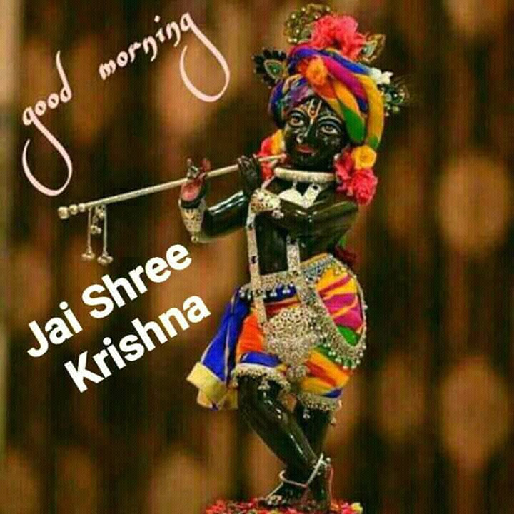 Good Morning Jai Shree Krishna1