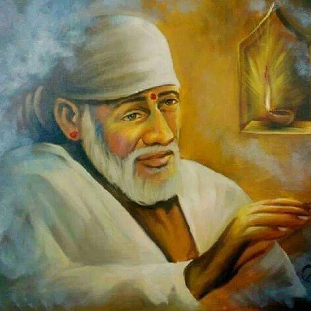 Om Sai Ram Paintings Poster