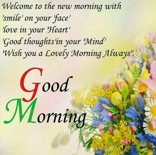 Welcome to The New Morning With Smile