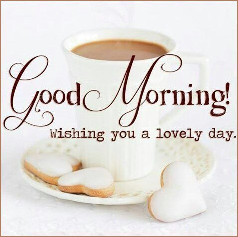 Good Morning Wishing You A Lovely Day