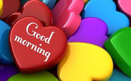Good Morning With Colorfull Love
