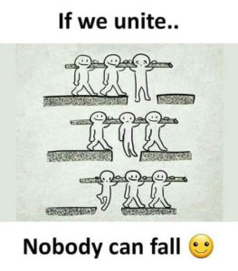 If We Unite Nobody Can Fall
