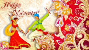 Happy Navratri Poster HD Wallpapers