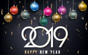 2019 Happy New Year Latest Wallpapers Download