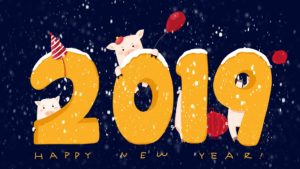Happy New Year HD 2019 Wallpapers