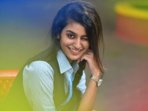 Priya Prakash Varrier Most Beautiful And Cutest South Actress Beauty New